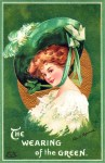 Ellen Clapsaddle – The Wearing of the Green Vintage Postcard