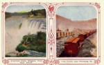 Niagara Falls and Coke Ovens Vintage Postcard