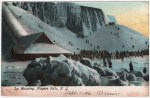 Ice at Niagara Falls Vintage Postcard