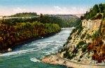 Niagara River Gorge Vintage Postcard
