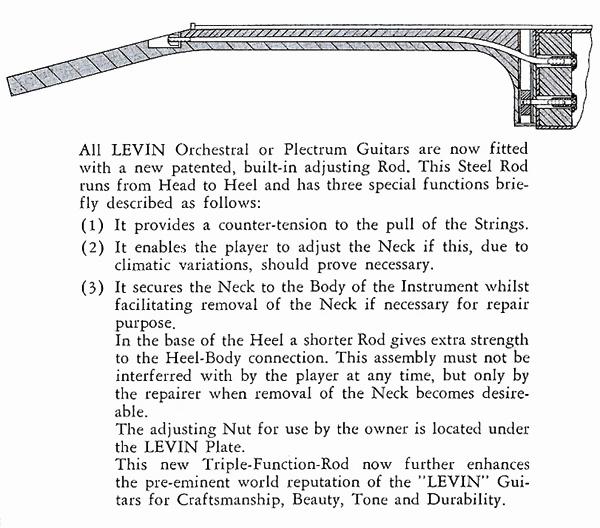 Levin bolt-on neck