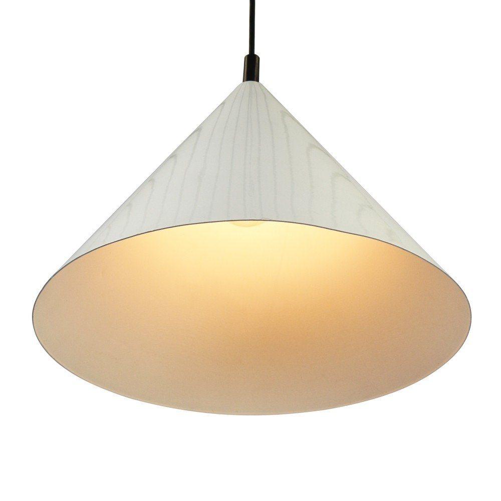 Large White Pendant Light