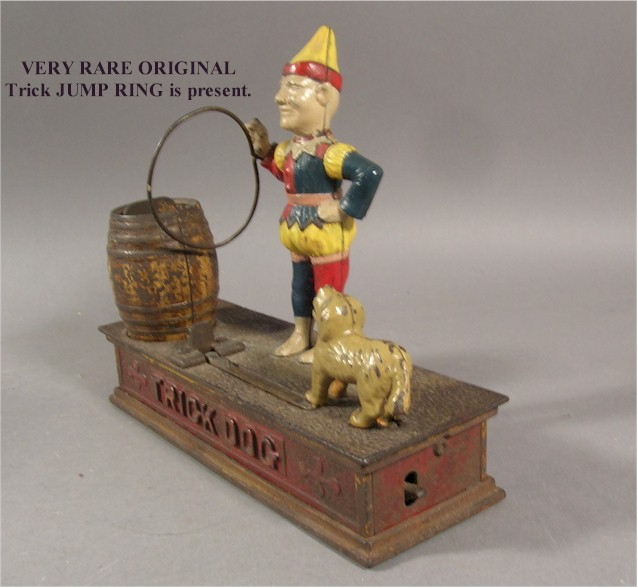Antique Metal Piggy Banks