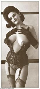 Vintage corset coming off