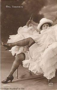 Cabaret Dancer from Bal Tabarin