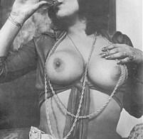 Vintage drunk slut