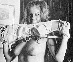 Taking the bra off