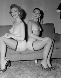 Pin-up Judy O'Day with other 4