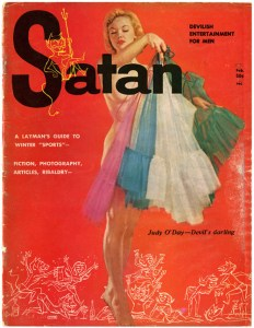 Satan Mag - Pin-up Judy O'Day 64
