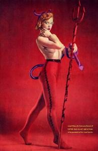 Satan Mag - Pin-up Judy O'Day 67