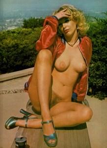 "Bridgette Maier as ""Nola"" in Club International from 1974"