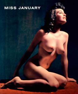 January 1954 Playboy Playmate