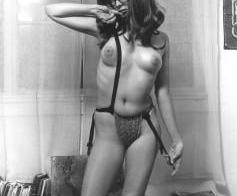 Vintage Geek Girl Nude