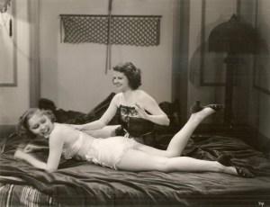 Vintage Spanking Models