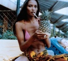 Laura Gemser, model and soft core porn actress