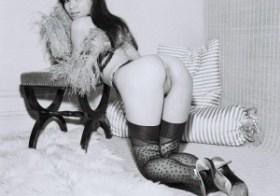 Kneeling Vintage Asian