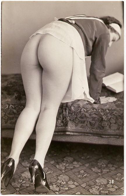 Vintage chamber maid