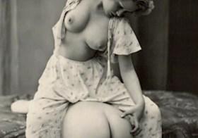 Vintage lesbian spanking