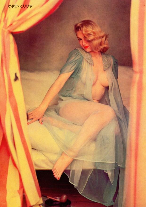 Marilyn's LAFF Magazine centerfold