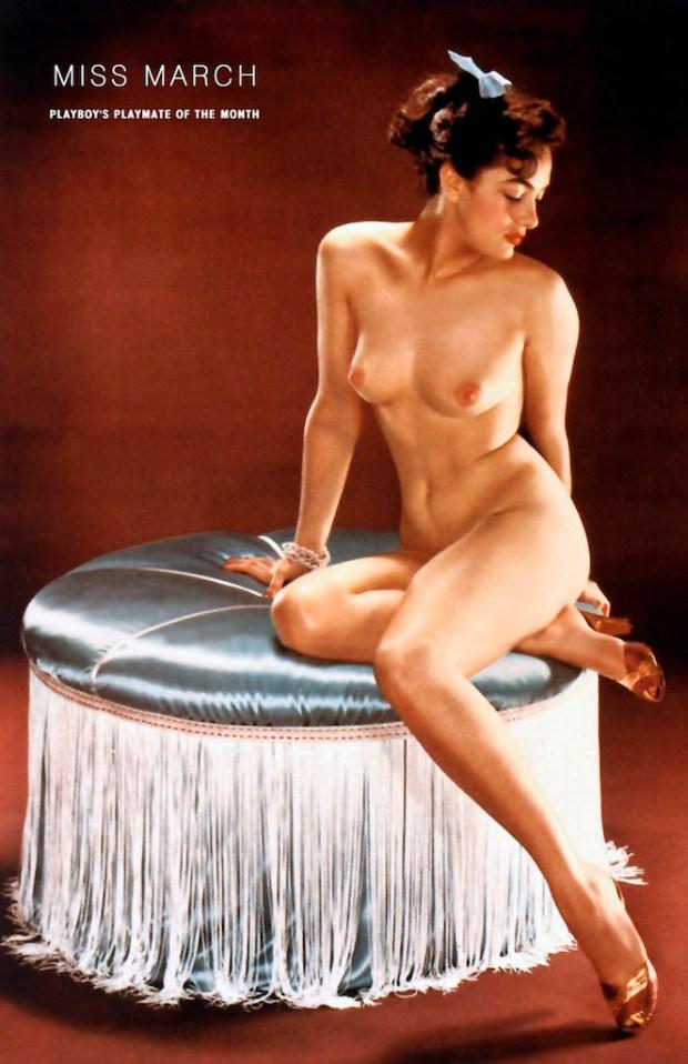 Dolores Del Monte - Miss March 1954
