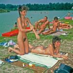 Twins at Nudist Colony