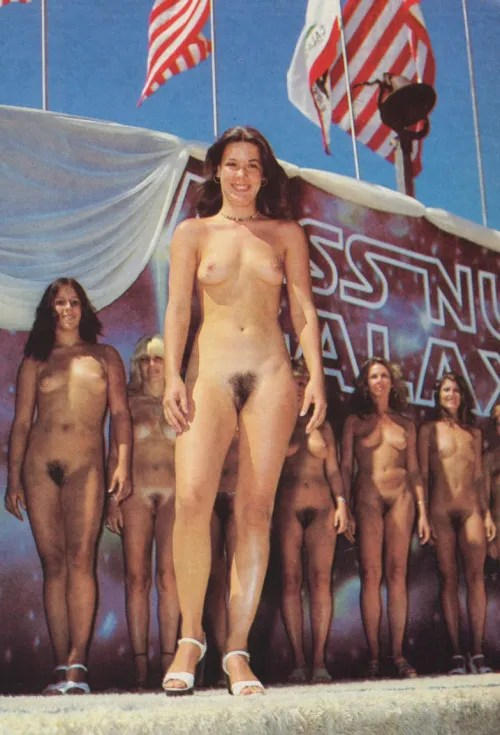 Miss Nude Galaxy 1976