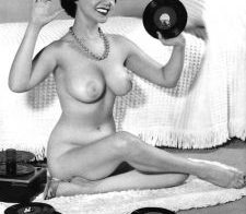 Listening to records in the nude