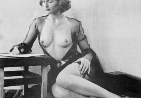 Adrienne Germaine – Burlesque Dancer?
