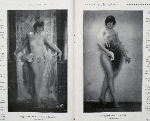 Actresses Inge Epp and Lola Epp nude