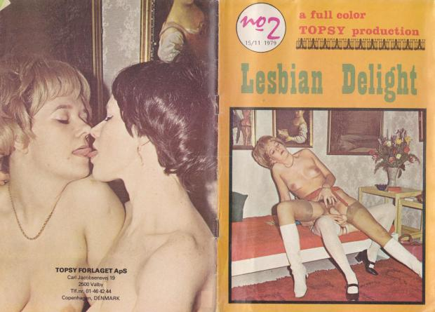 Lesbian Delight 1 Cover
