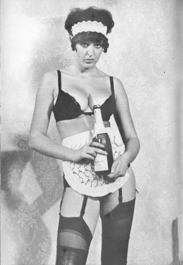 Vintage French Maid Model