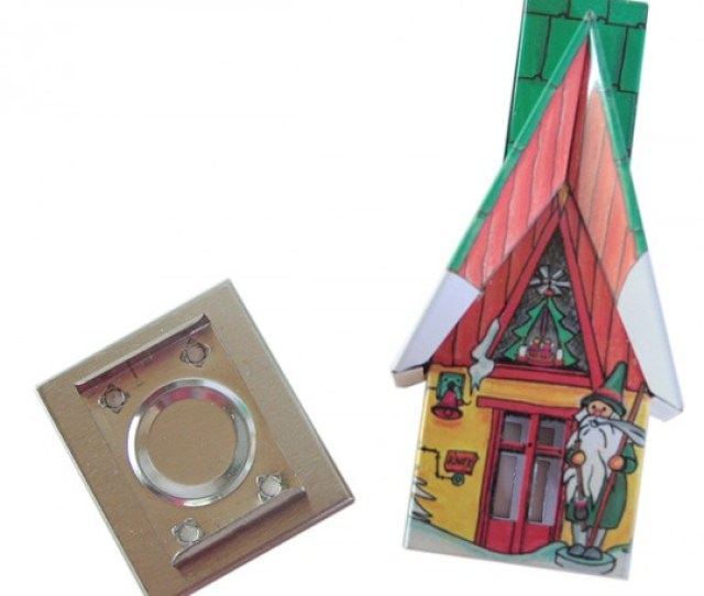 Gnome Christmas Cottage Incense Smoker Germany
