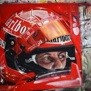 Ferrari Schumacher helmet