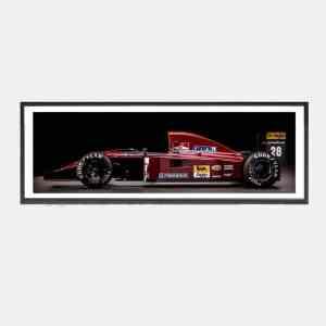 Ferrari_Alesi_1991_schilderij_vintage_speedworks