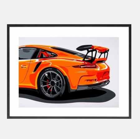 Joel-Lark-GT3-991-art-schilderij_kunst