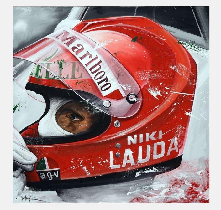 Niki_Lauda_F1_painting_schlderij_kunst_art_Havlasek