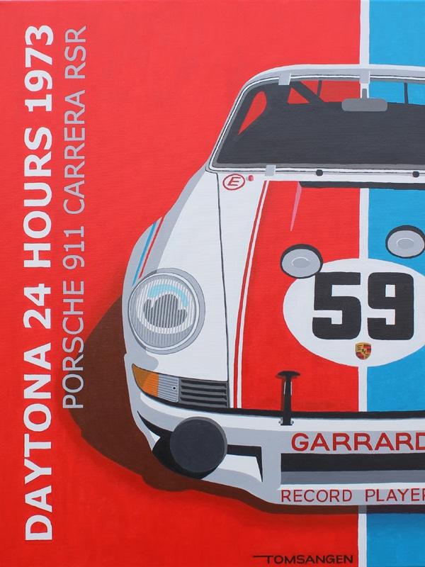 Porsche 911 RSR Daytona 1973 Origineel