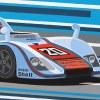 Porsche 936 LeMans 1976 Origineel Detail