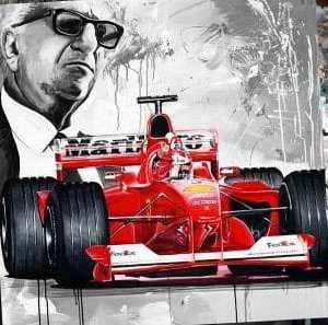 Schumacher Ferrari 2000 champion