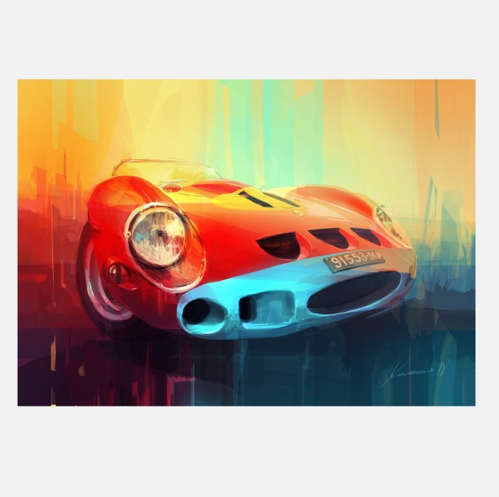ferrari_GTO_250_art_kunst_limited_edition_speedworks