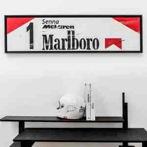 mclaren-Senna-marboro-art-kunst-framed