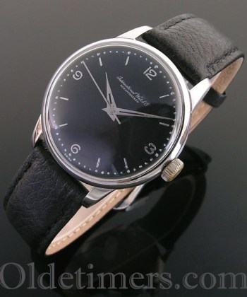 1950s steel vintage automatic IWC watch (3734)