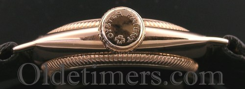 1920s 9ct gold cushion vintage ladies Rolex Oyster watch (3690)