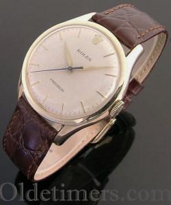 1960 9ct gold vintage Rolex Precision watch (3832)