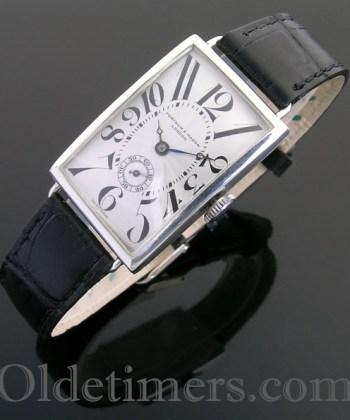 1920s silver vintage Fortnum & Mason watch (3762)