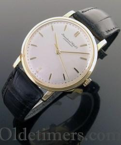 1960s 18ct gold round vintage IWC watch (3782)