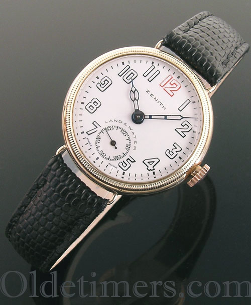 1920s 9ct gold vintage Zenith watch (3615)