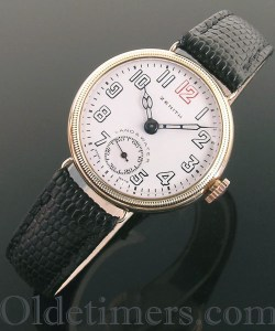 1920s 9ct gold vintage Zenith watch (3615)