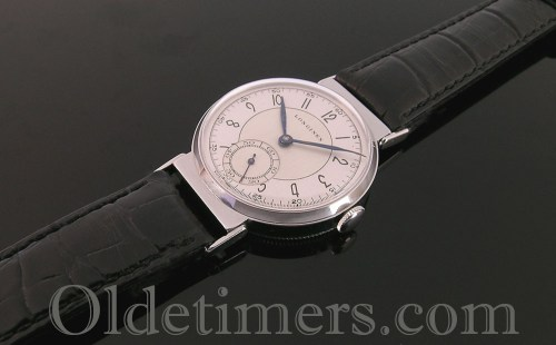 1940s steel round vintage Longines watch (3555)