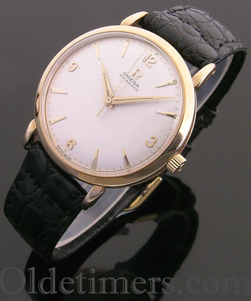 1960 9ct gold vintage Omega Automatic watch (3792)